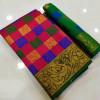 multicolor Banarasi Jacquard Woven Design saree
