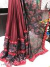 Red color Banglori Cotton printed saree