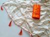 orange color sana silk Embroiderey saree