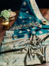 Yaman soft silk saree with rich pallu