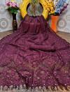 Raffal jacquard weaving saree