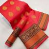 Red color Litchi Silk Woven Design saree
