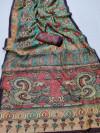 Linen digital printed saree