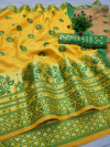 Lichi silk saree with jacquard work