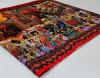Multi color soft linen cotton saree with kalamkari digital print
