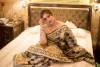 Black color Soft Banarasi Silk Weaving checkered Work saree