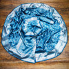 Firoji color soft banarasi silk saree with silver zari work
