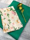 Rama green color plain soft silk