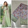 Multi color soft banarasi silk saree with jacquard pallu