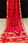 Red color soft kota saree