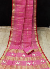 Pink color soft kota saree