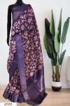 Soft Munga Silk Weaving digital printed saree
