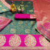 Banarasi Silk Jacquard weaving work saree