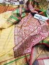 Pure Banarasi Silk Weaving work Paithani saree