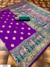 Soft & Pure Banarasi silk saree With Rich Weaving Pallu