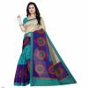 Printed Bhagalpuri Silk Saree