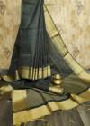 Soft Banglori raw silk  Zari Woven work saree