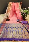 Soft Cotton silk Weaving work Saree
