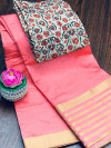 Bonga Silk  jacquard weaving Work Saree