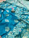 Banarasi Silk Jacquard weaving work saree