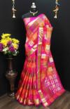 Soft Banarasi Silk Gold Zari work saree