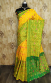Soft Cotton Silk Weaving work saree