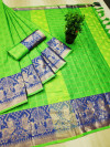 Cotton Silk Weaving Work Saree