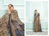 Dola silk saree with printed work