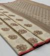Soft cotton silk Jacquard work saree