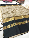 Soft Cotton Silk Woven work saree