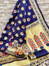 Soft Banarasi Silk Weaving work saree