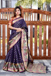 Patola Silk Jacquard Weaving work Saree
