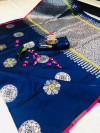 Lichi silk Zari weaving Work Saree