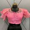 Deginer party wear  readymade blouse with frill sleeves