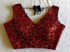 Bollywood style fancy sequence readymade blouse