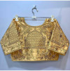 Fantam silk readymade blouse with embroidery and thread work