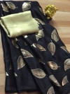 Pure Satin silk saree