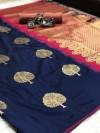 Lichi silk jacquard weaving saree