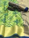 Soft banarasi patola silk saree
