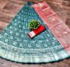 Exclusive Lichi silk saree with zari weaving work