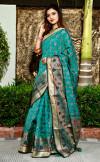 Patola silk jacquard weaving saree