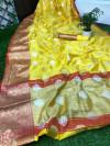 satrangi silk saree