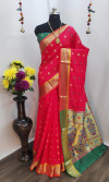 Paithani silk weaving work saree