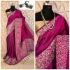 Raw silk weaving saree with rich pallu