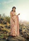 Linen cotton silk saree