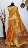 Aasam silk weaving saree with zari work