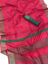 Banglori raw silk saree with embroidered work