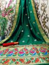 Paithani silk saree with zari work