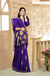 Soft silk weaving jacquard saree
