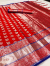 Lichi silk saree with zari weaving work